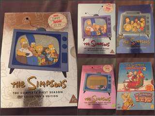 The Simpsons Season 1-4 plus free Christmas edition