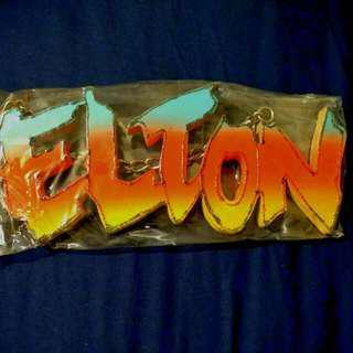 Name Sign - ELTON