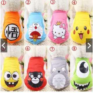 (PO)Pet dog/cat clothes