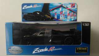 Petron collectible limited edition- black Pagani Zonda revolution