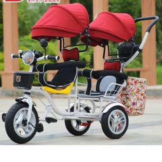 Twin 4in1 stroller bike