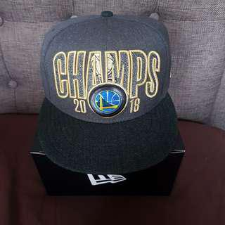 New Era Snapback Golden State Warrios 2018 Champ Cap