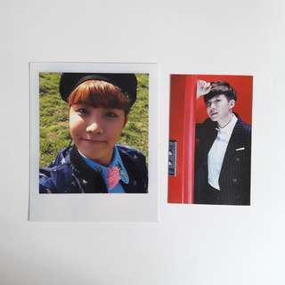 bts jhope young forever photocards