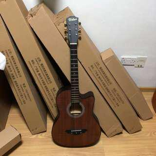 Band new acoustic guitar