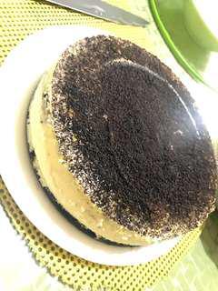 Oreo Strawberry Blueberry Cheesecake