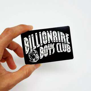 Billionaire Boys Club Sticker - 8cm(W) X 5.5cm(Ht)