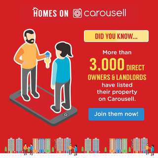 2) More than 3,000 Owners and Landlords have listed their property on Carousell.