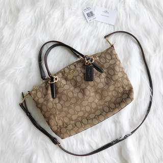 Authentic Coach OTL Signature Small Kelsey Sling Bag