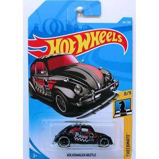 Hotwheels 2018 Checkmate Volkswagen Beetle Rare