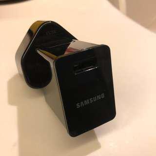 原廠 Samsung USB Charger Adapter 叉電