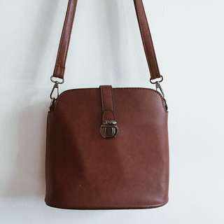 Brown Structured Bag