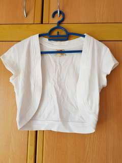 White Short sleeve Jacket
