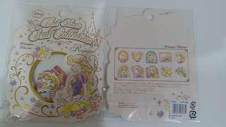 日本 迪士尼 長髮公主 貼紙 一包50個