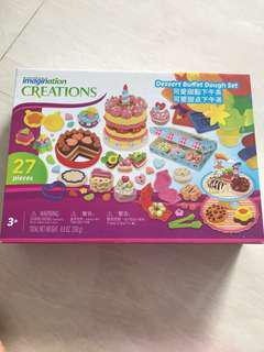 Toys R Us playdoh imagination creations dessert buffet dough set