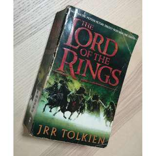 Lord of the Rings by JRR Tolkien Book
