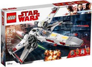 Leeogel Lego 75218 Star Wars X-Wing Starfighter - New In Sealed Box