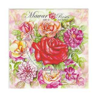 Malaysia 2014 Roses (Series II) Mint NH SG #MS2008