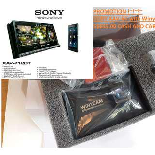 """Sony 7""""DVD with HX-200 Carcam PACKAGE PROMOTION!~ FOR CAR, Car Cam, Dash Cam, Recorder, DVR, Camera"""