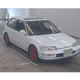 1990 Honda CIVIC EF9 SIR II(HK Motorcity汽車代購服務)