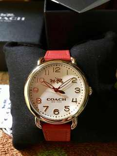 COACH ladies watch.💯original from🇺🇸 with tag price and paper bag. Money back if PrOVEN FAKe! SALE!!