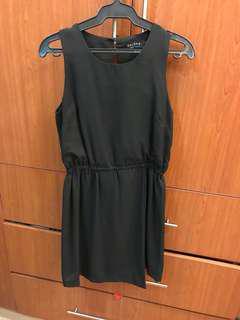 Zalora Black Sleeveless Dress