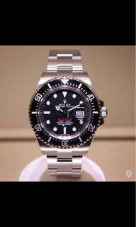 SEA-DWELLER ROLEX *Oystersteel 43mm