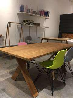 LOOKING FOR! Not selling!..Teak 6 seater dining table