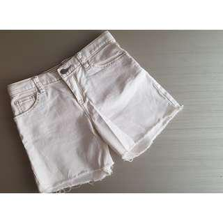 GAP White Shorts