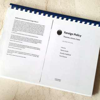 Foreign Policy Analysis: Theories, Actors, Cases by Smith, Hadfield and Dunne