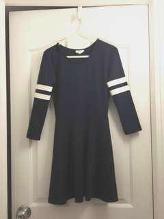 Who.A.U. Navy Onepiece Dress