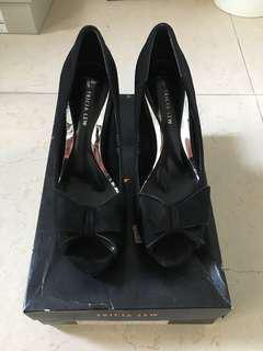 Tricia Lew High Heels Black Size 37 #mcsfashion