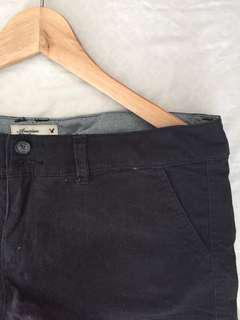 American Eagle Outfitters Black Shorts
