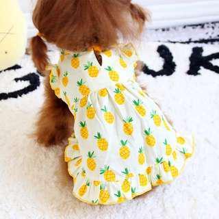 狗狗衫仔  寵物衣服 卡哇伊 狗狗裙子 蓬蓬裙 寵物狗衣服 夏裝薄款