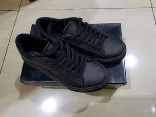 Polo ralph lauren black sneakers
