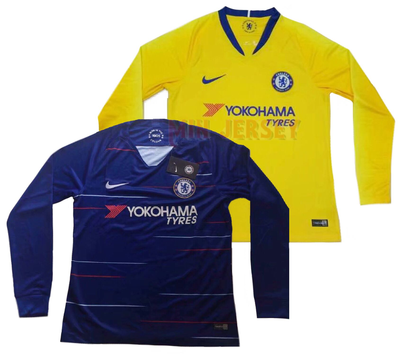 new style 0a33d 4fb8e chelsea fc long sleeve jersey