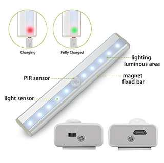 Portable sensor motion light night corridor house wardrobe light