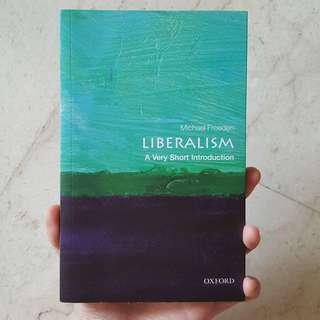 Liberalism: A Very Short Introduction by Michael Freeden
