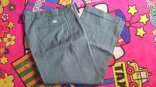 Lp dickies dark green sz 36 fit 34