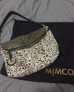 MIMCO khaki handbag