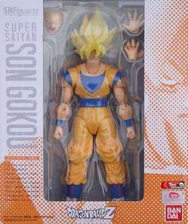 Order SHF Figuarts Dragonball Dragon Ball Super Saiyan Son Goku