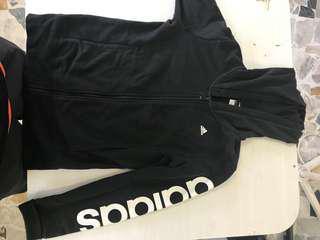 Black adidas jumper