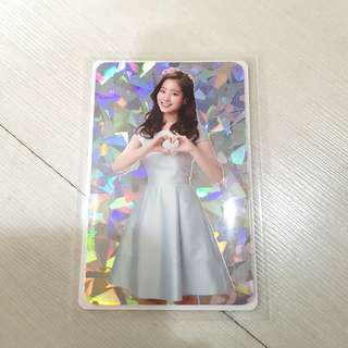 [QYOP] Twiceland The Opening Encore Dahyun Holo Photocard