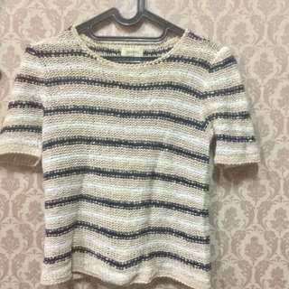 Knitting top, baju rajut