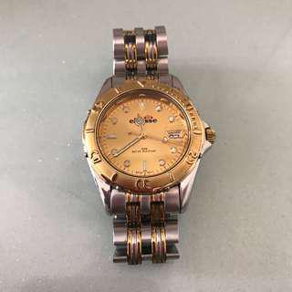 Ellesse Vintage Watch Gold Tone