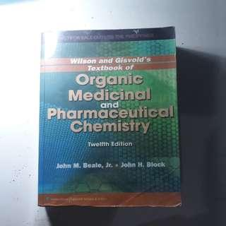 Organic Medicinal and Pharmaceutical Chemistry 12th Edition