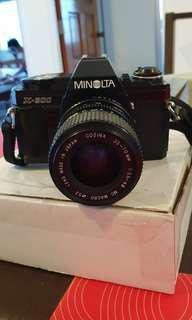 Vintage Minolta X-300 vamera fully functional
