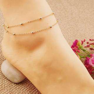 Barefoot Ankle Tassel Chain Anklet