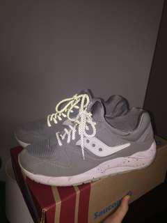 Grey Saucony Sneakers