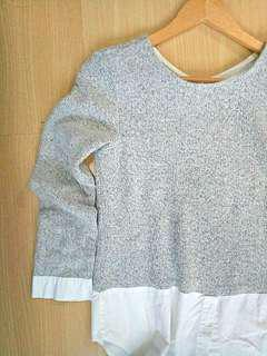 Two Tone Top (Size: S)