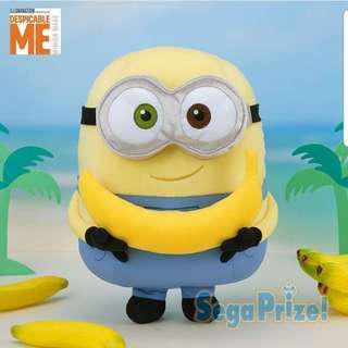 SEGA XL Despicable Me Minion Holding Banana UFO Catcher Prize